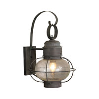 ELK Lighting Sag Harbor 1 Light Outdoor Wall Sconce in Charcoal 5762-C