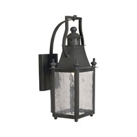 ELK Lighting Plantation 1 Light Outdoor Sconce in Charcoal 5770-C