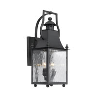 ELK Lighting Plantation 2 Light Outdoor Sconce in Charcoal 5771-C