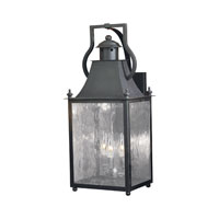 ELK Lighting Plantation 3 Light Outdoor Sconce in Charcoal 5772-C