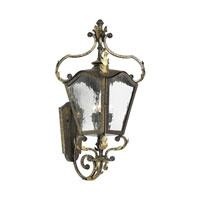 ELK Lighting French Quarter 3 Light Outdoor Sconce in Castle Bronze 5781-CB