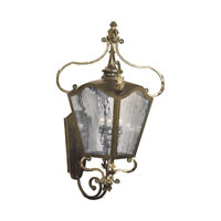 French Quarter 4 Light 40 inch Castle Bronze Outdoor Sconce
