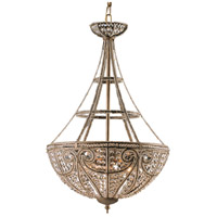 ELK 5965/4 Elizabethan 4 Light 17 inch Dark Bronze Pendant Ceiling Light