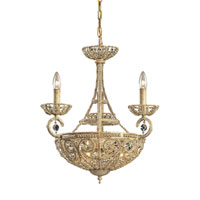 ELK Lighting Elizabethan 6 Light Chandelier in Dark Bronze 5966/3+3