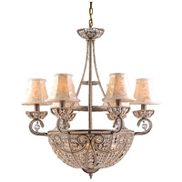ELK 5967/6+4 Elizabethan 10 Light 26 inch Dark Bronze Chandelier Ceiling Light alternative photo thumbnail
