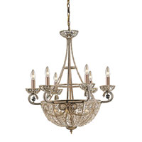 Elizabethan 10 Light 26 inch Dark Bronze Chandelier Ceiling Light