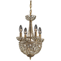 ELK Lighting Elizabethan 5 Light Chandelier in Dark Bronze 5973/4+1