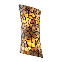 ELK Lighting Trego 2 Light Wall Sconce in Dark Rust 60016-2