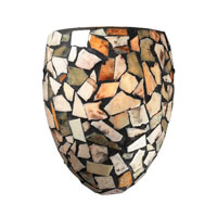 ELK Lighting Trego 1 Light Wall Sconce in Dark Rust 60019-1
