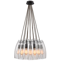 Elk Lighting Pendant Options 12 Light Pendant in Oil Rubbed Bronze 60044-12SR