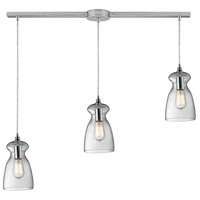 ELK Lighting Menlow Park 3 Light Pendant in Polished Chrome 60053-3L