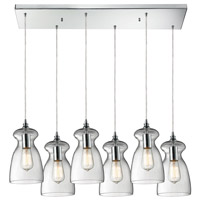 ELK Lighting Menlow Park 6 Light Pendant in Polished Chrome 60053-6RC