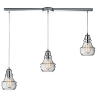 ELK Lighting Menlow Park 3 Light Pendant in Polished Chrome 60057-3L