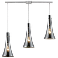 ELK Lighting Menlow Park 3 Light Pendant in Polished Chrome 60065-3L