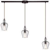 ELK Lighting Menlow Park 3 Light Chandelier in Oil Rubbed Bronze 60066-3L