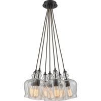 ELK 60066-7SR Menlow Park 7 Light 19 inch Oil Rubbed Bronze Mini Pendant Ceiling Light in Standard Nesting