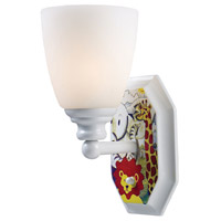 ELK Lighting Kidshine 1 Light Wall Sconce in White Safari Theme 60080-1