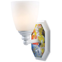 ELK Lighting Kidshine 1 Light Wall Sconce in White 60090-1