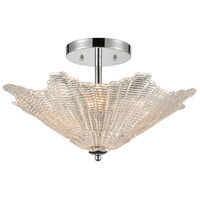 ELK 60175/4 Radiance 20 inch Polished Chrome Semi Flush Mount Ceiling Light