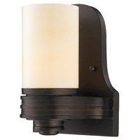 Waverly 1 Light 7 inch Aged Bronze Wall Sconce Wall Light