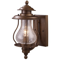 ELK Lighting Wikshire 1 Light Outdoor Sconce in Coffee Bronze 62005-1
