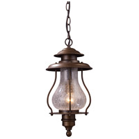 ELK Lighting Wikshire 1 Light Outdoor Pendant in Coffee Bronze 62006-1