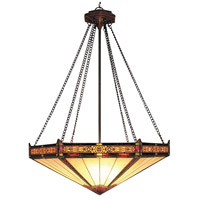 ELK Lighting Filigree 3 Light Pendant in Aged Bronze 622-AB