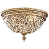 Renaissance 4 Light 16 inch Dark Bronze Flush Mount Ceiling Light