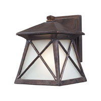 ELK Lighting Spencer 1 Light Outdoor Sconce in Hazelnut Bronze 64003-1 photo thumbnail