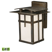 ELK Lighting San Fernando 1 Light Outdoor Sconce in Hazelnut Bronze 64010-1