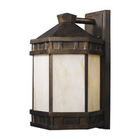 ELK Lighting Mission Abbey 1 Light Outdoor Sconce in Hazelnut Bronze 64022-1