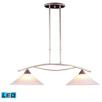 ELK 6501/2-LED Elysburg LED 31 inch Satin Nickel Island Light Ceiling Light