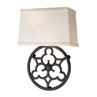 ELK Lighting Ironton 2 Light Wall Sconce in Vintage Rust 65110-2