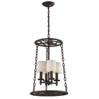 ELK Lighting Ironton 4 Light Chandelier in Vintage Rust 65116-4