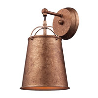 ELK Lighting Walden 1 Light Wall Sconce in Bellwether Copper 65130-1