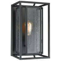 ELK 65260/1 Eastgate 1 Light 8 inch Textured Black Sconce Wall Light