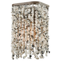 ELK 65300/1 Agate Stones 1 Light 7 inch Weathered Bronze Vanity Wall Light