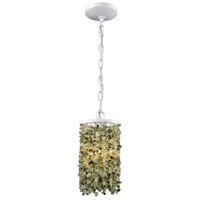 ELK 65325/1-LA Agate Stones 1 Light 6 inch Off-white Mini Pendant Ceiling Light in Recessed Adapter Kit