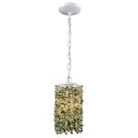 ELK 65325/1 Agate Stones 1 Light 6 inch Off-White Pendant Ceiling Light