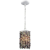 ELK 65340/1-LA Agate Stones 1 Light 6 inch Off-white Mini Pendant Ceiling Light in Recessed Adapter Kit