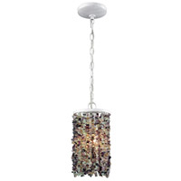 ELK 65340/1 Agate Stones 1 Light 6 inch Off-White Pendant Ceiling Light