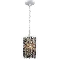 ELK 65340/1 Agate Stones 1 Light 6 inch Off-white Mini Pendant Ceiling Light in Standard