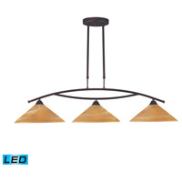 ELK 6552/3-LED Elysburg LED 43 inch Aged Bronze Island Light Ceiling Light