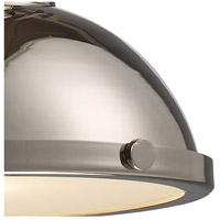 ELK 66114-1 Chadwick 1 Light 13 inch Polished Nickel Pendant Ceiling Light in Incandescent alternative photo thumbnail