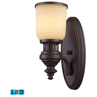 ELK Lighting Chadwick 1 Light Wall Sconce in Oiled Bronze 66130-1-LED