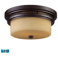 ELK Lighting Chadwick 2 Light Flush Mount in Oiled Bronze 66131-2-LED