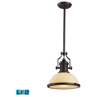 ELK 66133-1-LED Chadwick LED 13 inch Oiled Bronze Pendant Ceiling Light