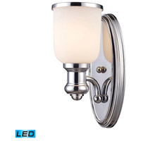 ELK Lighting Brooksdale 1 Light Wall Sconce in Polished Chrome 66150-1-LED