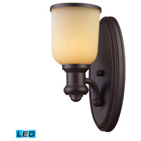 ELK Lighting Brooksdale 1 Light Wall Sconce in Oiled Bronze 66170-1-LED