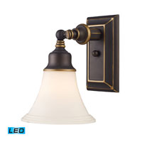 ELK Lighting Lurray 1 Light Wall Sconce in Aged Bronze 66174-1-LED